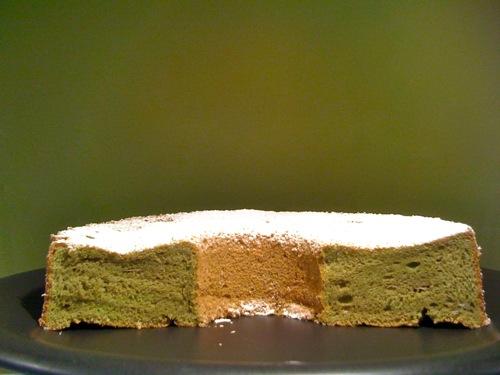 Macha Sifon Cake